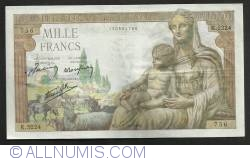 Image #1 of 1000  Francs  1943 (6. V.)
