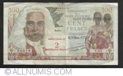 Imaginea #1 a 2 Fraci Noi (pe 100 Franci - Caisse Centrale de la France D'Outre-Mer) ND (1963)