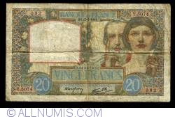 Image #1 of 20  Francs  1941 (17. VII.)