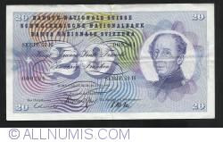 20  Franken 1967 (30. VI.)