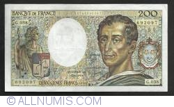 200 Francs 1986