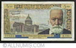 Image #1 of 5 Nouveaux Francs 1963 (2. V.)