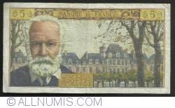 Image #2 of 5 Nouveaux Francs 1963 (2. V.)