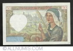 Image #2 of 50 Francs 1941  (15. V.)