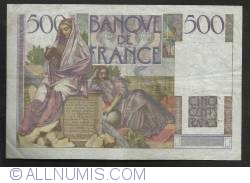 Image #2 of 500 Francs 1952 (4. IX.)