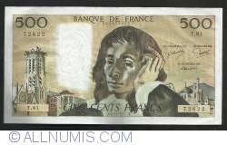 Image #1 of 500 Francs 1977  (3. XI.)