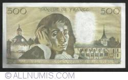 Image #2 of 500 Francs 1977  (3. XI.)