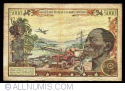Image #2 of 5000 Francs 1980
