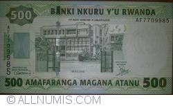 Image #1 of 500 Francs 2008 (1. II)