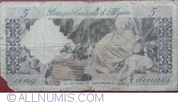 Image #2 of 5 Dinars 1964 (1. I.)