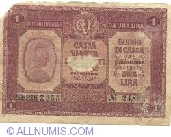 Image #1 of 1 Lira 1918