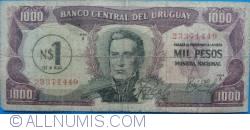 Image #1 of 1 Nuevo Peso on 1000 Pesos ND(1975)