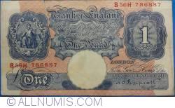Image #1 of 1 Pound ND (1940-1948)