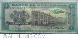 1 Quetzal 1964  (8. I.)