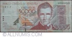 Imaginea #1 a 50000 Bolivares 1998 (24. VIII.)