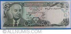 Image #1 of 50 Afghanis 1977 (SH 1356  - ١٣٥٦)