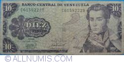 Imaginea #1 a 10 Bolivares 1981 (6. X.)