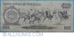 Imaginea #2 a 10 Bolivares 1981 (6. X.)