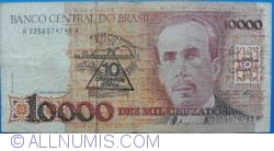 10 Cruzado Novo on 10 000 Cruzeiros ND(1989)