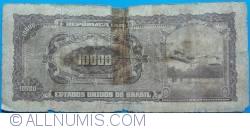 Image #2 of 10 Cruzeiros Novos on 10 000 Cruzeiros ND(1967)