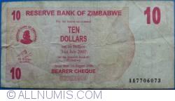 Imaginea #1 a 10 Dolari 2006 (1. VIII.)