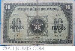 Imaginea #1 a 10 Francs 1943 (1. V.)