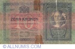 10 Korona ND (1919 - old date 1904)