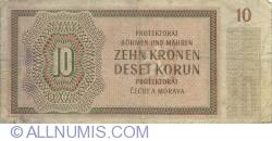 Imaginea #2 a 10 Korun 1942 (8. VII.)