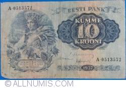 10 Krooni 1937