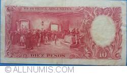 Imaginea #2 a 10 Peso ND (1954-1963)