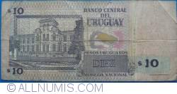 Image #2 of 10 Pesos Uruguayos 1998