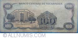 Image #2 of 100 Córdobas 1985 (1988)