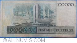 Image #2 of 100 Cruzados on 100 000 Cruzeiros ND(1986)