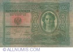 100 Korona ND (1919 on old 1912)