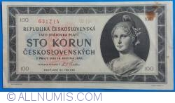 Image #1 of 100 Korun 1945 (16. V.)