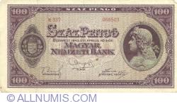 Imaginea #1 a 100 Pengő 1945 (5. IV.)