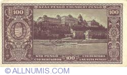 Imaginea #2 a 100 Pengő 1945 (5. IV.)