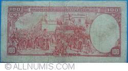 Image #2 of 100 Pesos L. 1939 - Serie D (1)