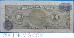 Image #2 of 100 Pesos 1973 (18. VII.) - Serie BWU