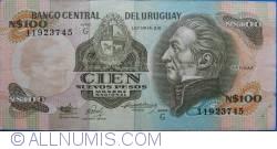 Image #1 of 100 Nuevos Pesos ND (1987)
