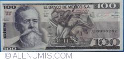 Image #1 of 100 Pesos 1981 (27. I.) - Serie PP