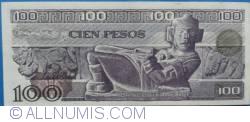 Image #2 of 100 Pesos 1981 (27. I.) - Serie PP