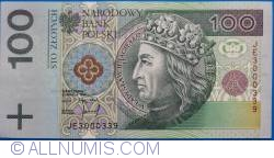 Image #1 of 100 Zlotych 1994 (25. III.)