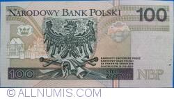 Image #2 of 100 Zlotych 1994 (25. III.)