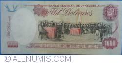 Imaginea #2 a 1000 Bolivares 1998 (6. VIII.)