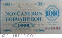 Imaginea #1 a 1000 Dinari 1992