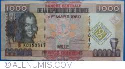 Imaginea #1 a 1000 Franci 2010 (1. III.)