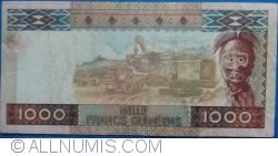 Imaginea #2 a 1000 Franci 2010 (1. III.)