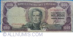 Image #1 of 1000 Pesos ND(1967)