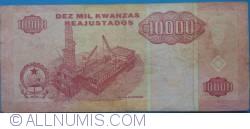 Imaginea #2 a 10 000 Kwanzas Reajustados 1995 (1. V.)